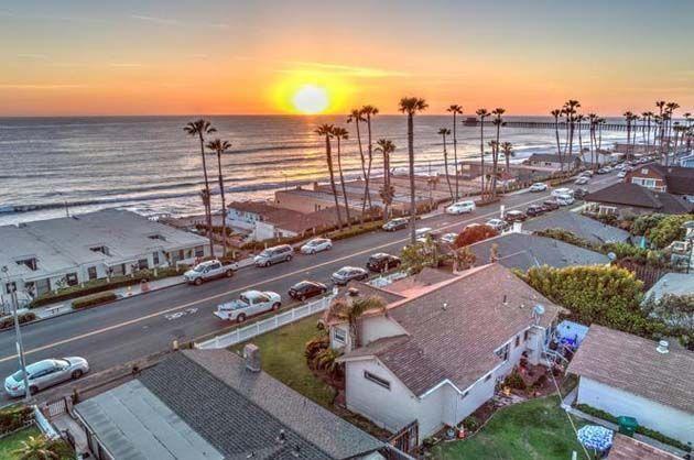 San Diego: el olor en Oceanside viene del océano y no es tóxico