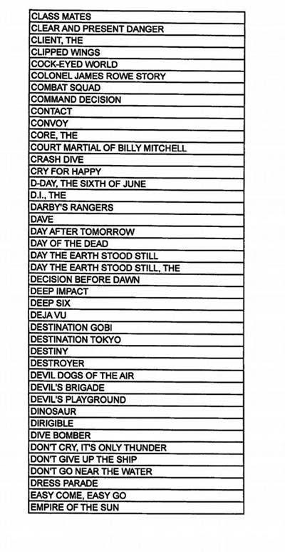 peliculas3 - Estas 800 películas de Hollywood fueron secretamente escritas por el Pentágono