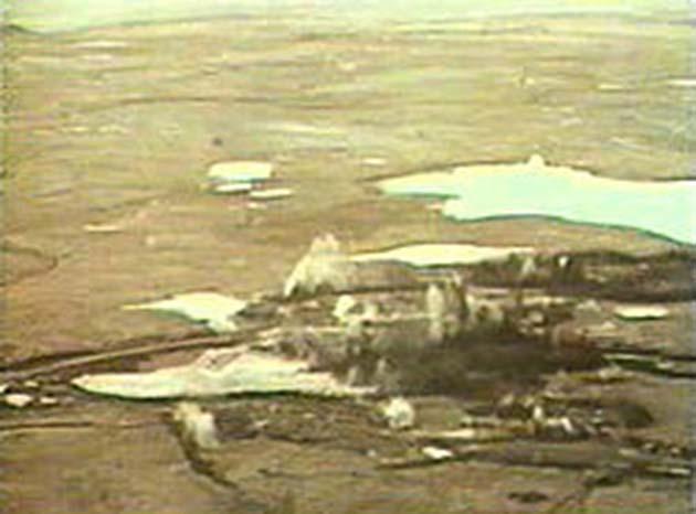 Que ver en Alaska: usaron una cabeza nuclear de 5 megatones