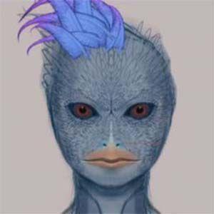 Extraterrestres Aviares Azules raptaron mujeres y niños pequeños