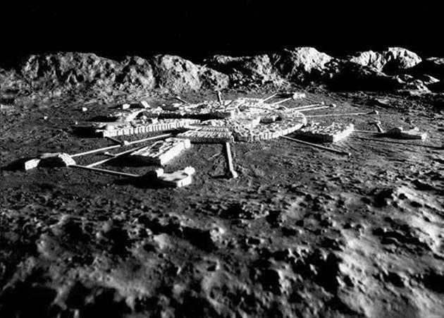 NASA, Bases en la Luna