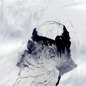 Antártida Occidental: si el Iceberg se rompe,tendrá 300 km.cuadrados