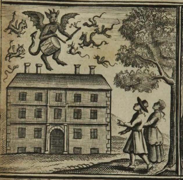 Bateria: el baterista de Tedworth es una historia de fantasmas de 1661