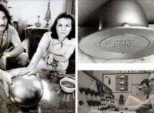 La familia Betz descubrió una esfera con características extrañas