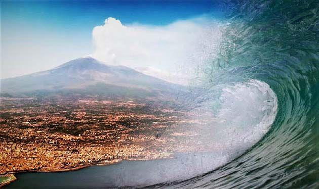 Catania en Peligro: el Monte Etna de Italia se derrumbará en el mar creando un tsunami