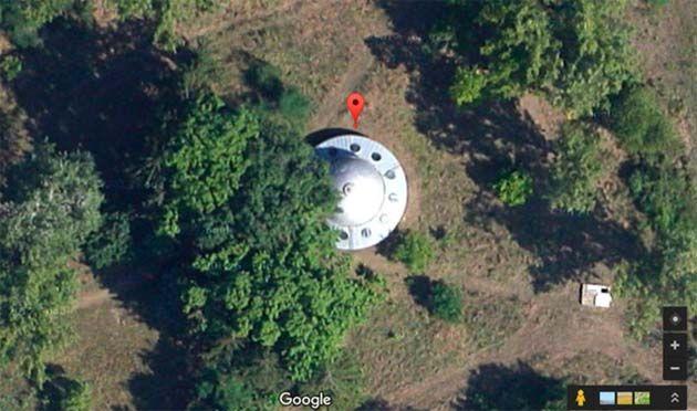 7 avistamientos muy extraños en Google Maps 2