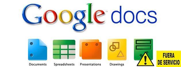 Google docs: Mensaje de error: ha violado los términos de servicio