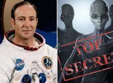 "Nasa Houston, Edgar Mitchell: Lo marcaron como ""por encima del alto secreto"""