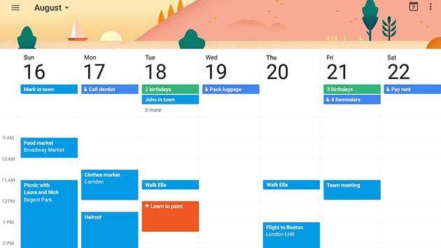 Google Calendar le permite realizar un seguimiento de su agenda