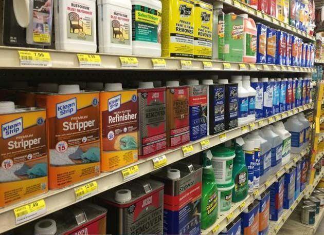 Home Depot dejará de vender productos con cloruro de metileno
