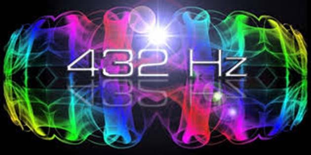 Afinador de guitarra: 432 hz puede considerarse un armónico de luz