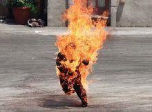 Londres Inglaterra: Combustión espontánea: policía y bomberos desconcertados