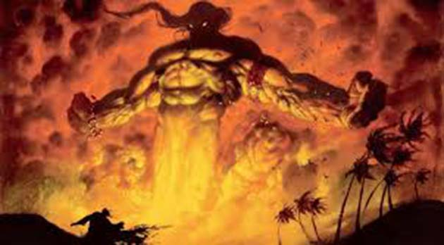 Lampara de Aladino: 1 según el Corán están hechos de fuego sin humo
