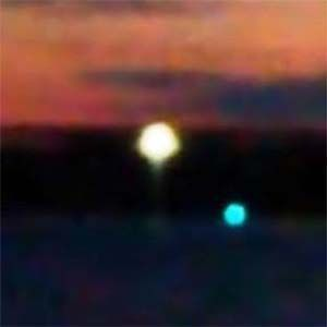 Suecia: filman un OVNI absorbiendo agua del lago Mälaren en Strängnäs