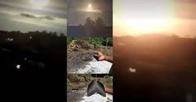UFO explota provocando un destello brillante en Bahía, Brasil
