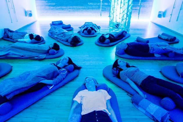 Meditar en casa: 1 haga lo siguiente para conciliar el sueño