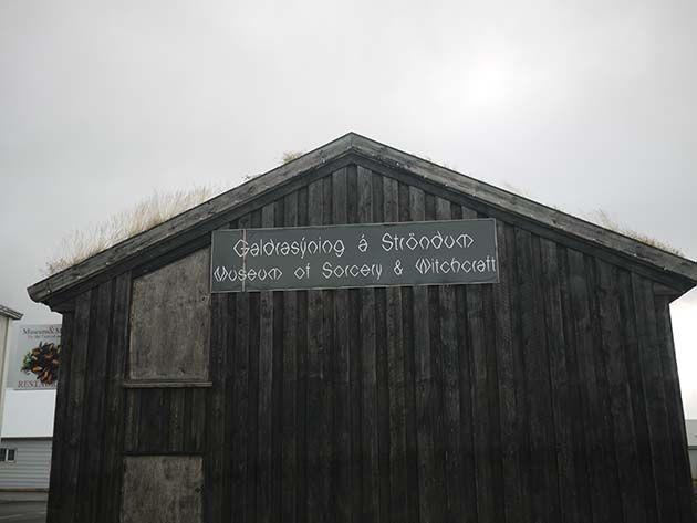 Hechizo: Museo de Brujería Strandagaldur de Islandia