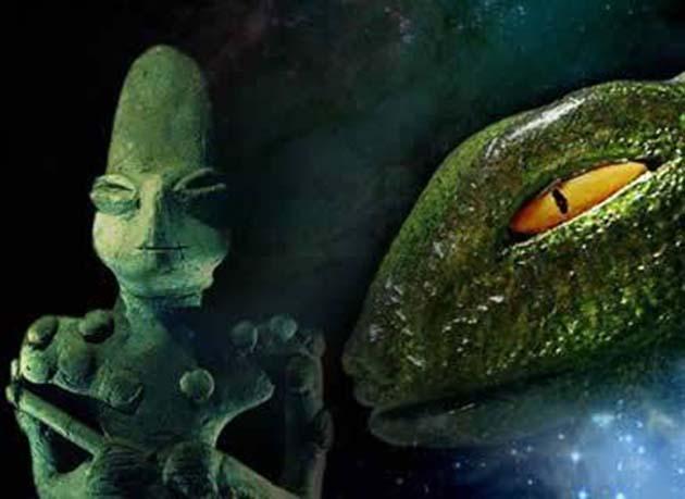 Evolución: 1 Reptilianos, Nephilim, nueva etapa de evolución