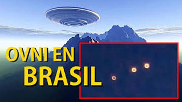 UFO explota provocando 1 destello brillante en Bahía, Brasil
