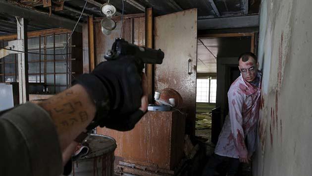 Zombie: 1 el sofisticado modelo de brote es aterrador