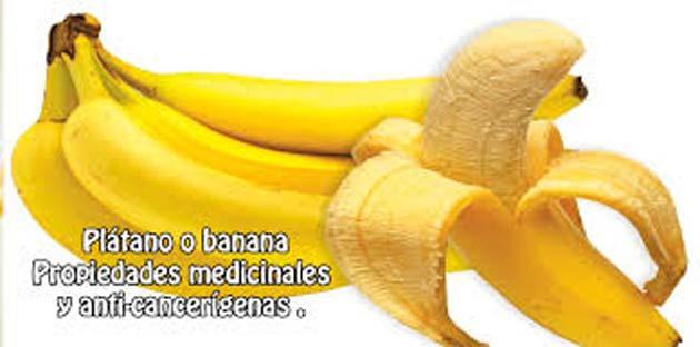 Planta de bananas: 1 las bananas combaten la depresión