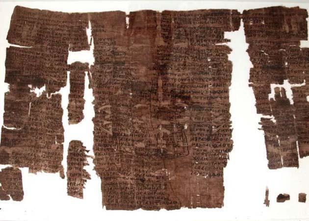 Conjuros: El papiro fue descubierto por expedición en 1934