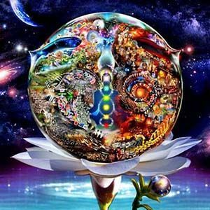 Metafísica libros: mundo dividido en 2 direcciones evolutivas diferentes