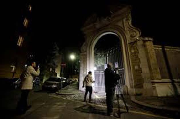 Visita Vaticano: David Yallop, 1 periodista de investigación