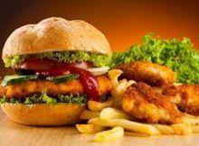 Comida chatarra: serie de deficiencias vitamínicas