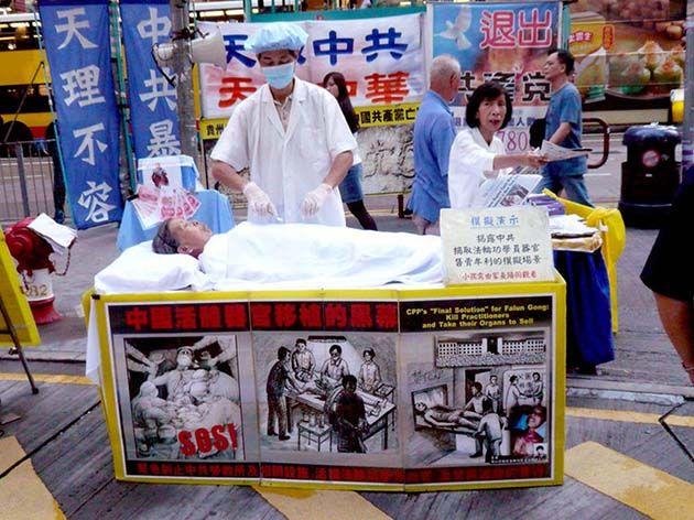 Trasplante: abusos de sustracción de órganos en China