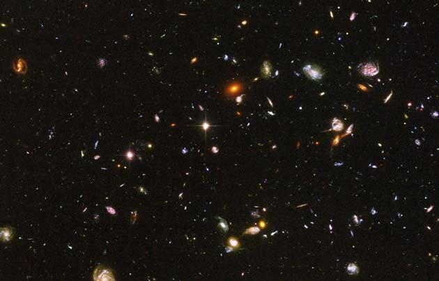 Astrofísica: comparó mapas de 1950 con imágenes recientes