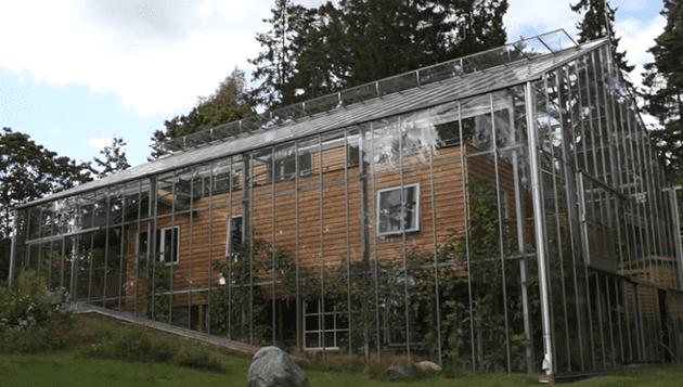Invernadero: El piso de arriba puede alcanzar 59-68 grados F