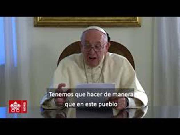 Papa Francisco: 1 invita a líderes a firmar un Pacto Global