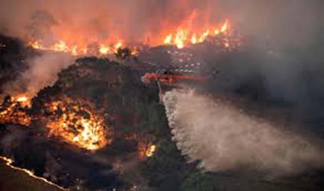 Incendio: 1 pirómano acusado de iniciar incendios, australia