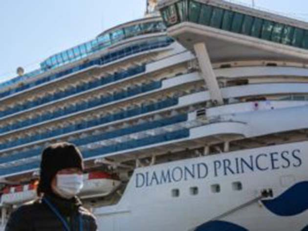 Crucero: 355 pasajeros en el crucero con coronavirus