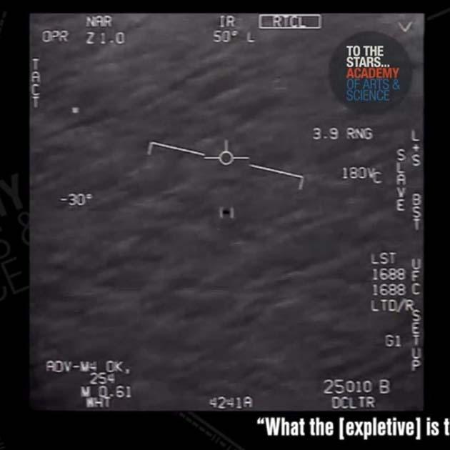 Ovnis: encuentro OVNI en 2004 frente a las costas de México