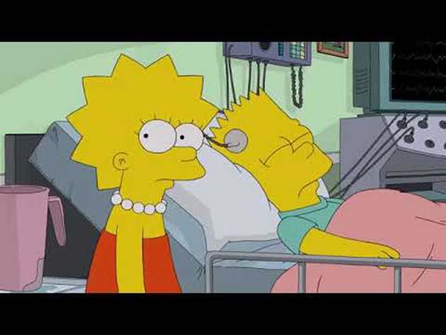 Simpson: 0 predicen un nuevo brote de coronavirus