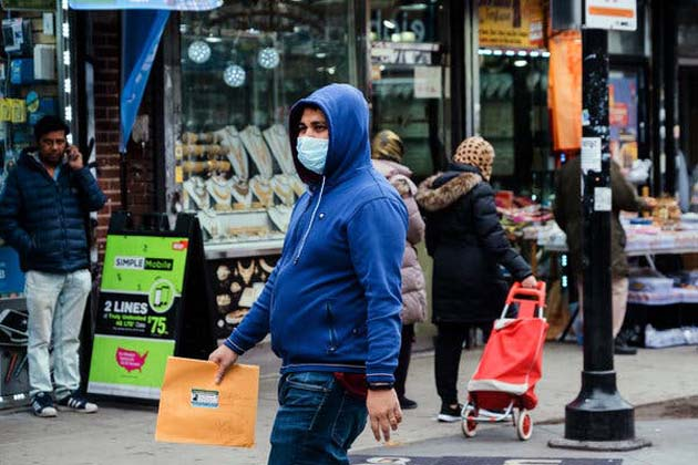 Nueva York: casi 25.000 casos de coronavirus en el país