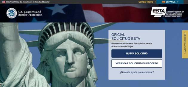 ESTA 0 Se requiere para poder ingresar a los EE. UU.
