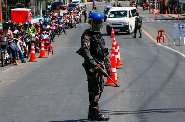 En Filipinas: si desafía el cierre la policía lo matará 0