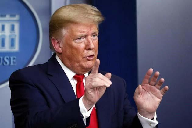 Presidente Trump: promete congelar los fondos para OMS 0