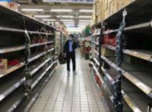 Escasez: posible escasez de alimentos debido al (COVID-19)