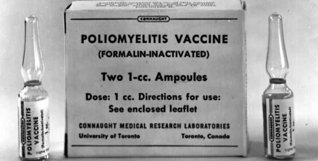 Poliomielitis: En 1955, la vacuna paralizó y mató niños