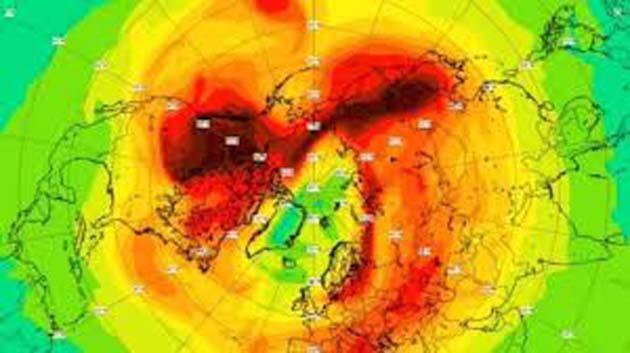 Ozono: El agujero de ozono del Polo Norte se cerró 0