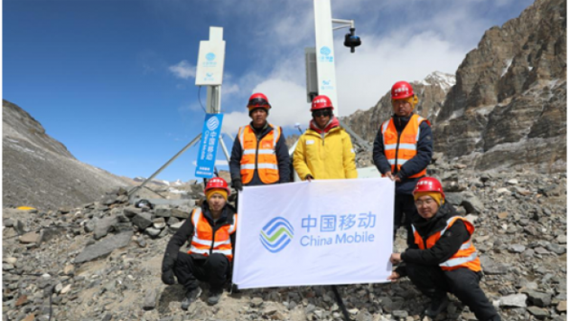 Monte Everest: China levanta 2 estaciones 5G en la cumbre