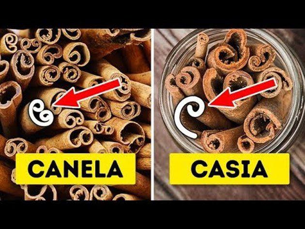 Canela de Ceilán: es una forma más suave de la especia 0