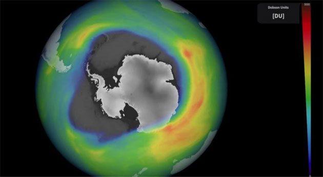 00  Cloro y bromo: destruyen el ozono del polo sur  00