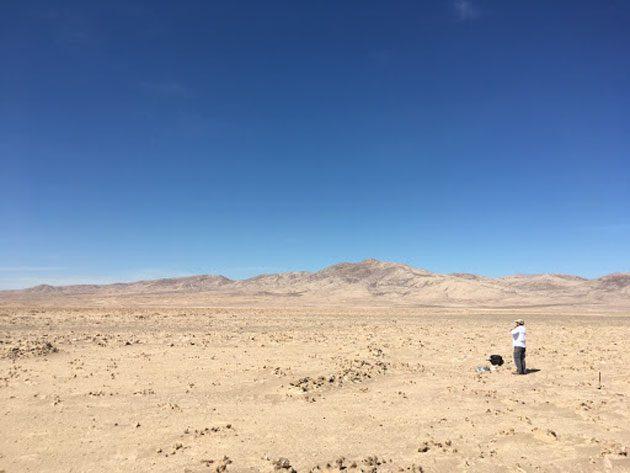 Vida microbiana: Hay microbios en el desierto de Atacama 0