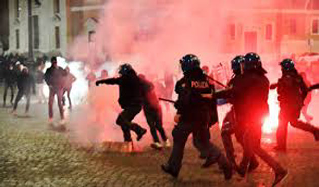 Segunda ola: Las protestas estallan en toda Europa 0