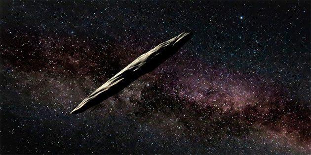 Luz extraña: Oumuamua vino de un Plutón alienígena 00